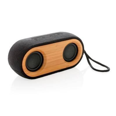 Podwójny bezprzewodowy głośnik 10W Bamboo